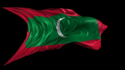 Flag of Maldives