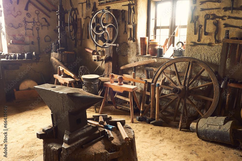 kuźnia stary artisan - powiększenie