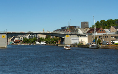 Fredrikstad, small Norwegian town
