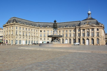 France, Aquitaine, Bordeaux, Place de la Bourse