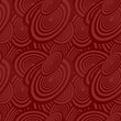 Maroon seamless ellipse pattern background