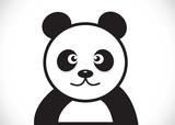 Fototapety Panda cartoon character