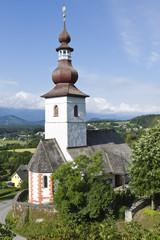 Alte Dorfkirche in Kärnten