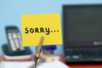 Sorry....at the office