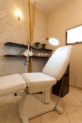 Professional chair for beauty theraphy at spa salon