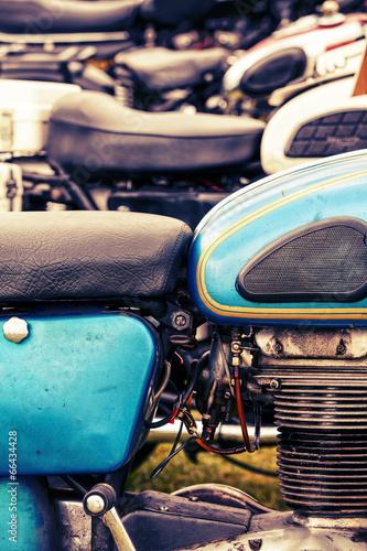 retro motorbikes