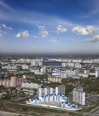 Nizhnevartovsk city, Russian center of oil industry