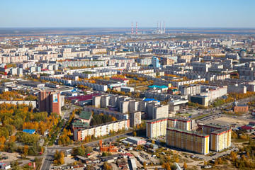 Surgut city, Russian center of oil industry