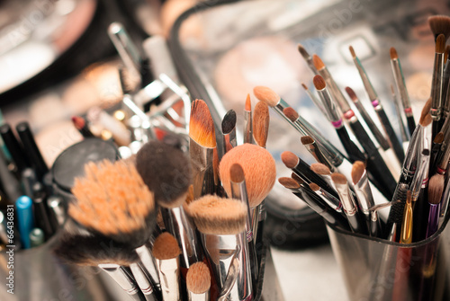 Set of professional make-up brushes - 66436831
