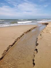 Corso d'acqua con sbocco a mare