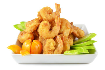 Shrimp fried foods