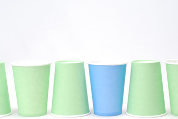 recycling paper glass