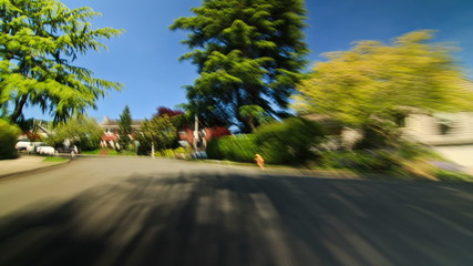 Residential Driving Time Lapse