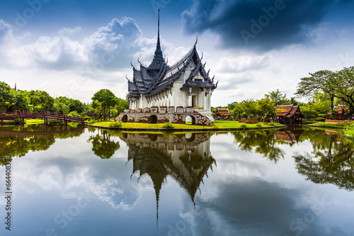 Sanphet Prasat Palace, Ancient City, Bangkok, Thailand - 66440837