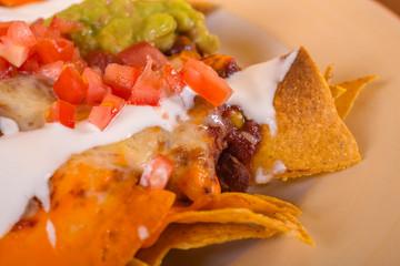 Delicious mexicana food