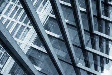 Abstrakcyjny obraz nowoczesnego budynku