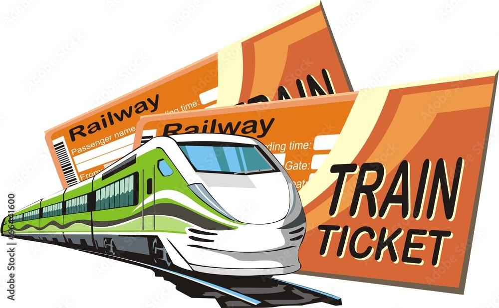 kolejowych tourismus pasażer - powiększenie