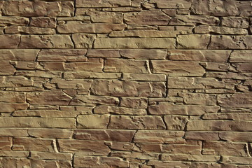 schist wall as background