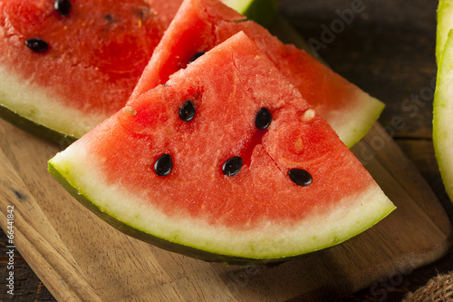 Ripe Healthy Organic Watermelon