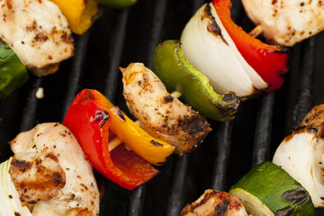 Homemade Chicken Shish Kabobs