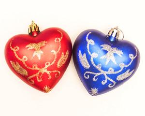 сердце ёлочные игрушки