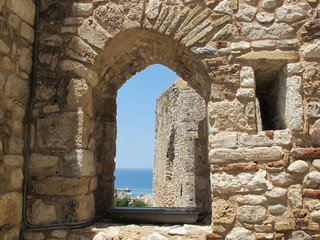 burgfenster in patras