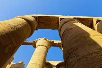 pillars of Karnak