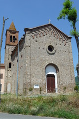 Church of St. Bartholomew in Montechiaro d'Asti