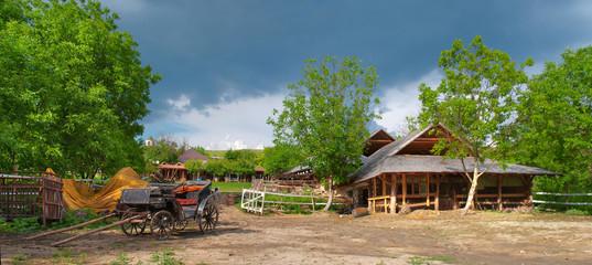 Old farm in Butuceni, Moldova
