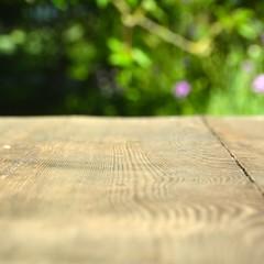Hintergrund - Holz und Garten