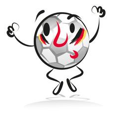 soccer, fan, football, germany,winner,character,hand drawing