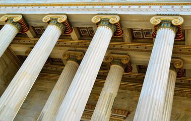 academy of athens - ionic columns