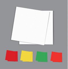 Napkins set, vector illustration
