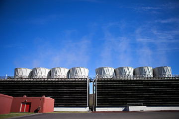 Geothermal Power Cooling Tower