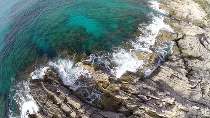 Flying over Cala Rajada´s Cliffs - Aerial Flight, Mallorca