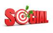 Social marketing target