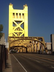 Golden Bridge, Sacramento, California, USA