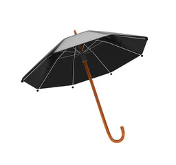 3d Umbrella - isolated