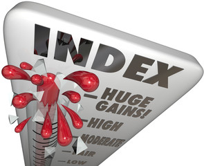 Index Measuring Level Rating Score Comparing Periods Performance