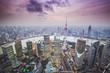 Quadro Shanghai, China Aerial View