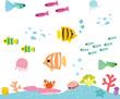 熱帯魚とサンゴの海 - 66451417