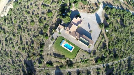 Luxus Finca & Private Pool - Aerial View, Mallorca