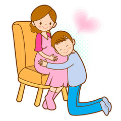 Prenatal care for pregnant women and her family. Marriage and Pa
