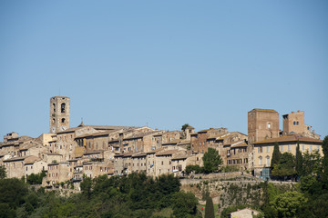 Cityscape of Colle Valdelsa (Tuscany)