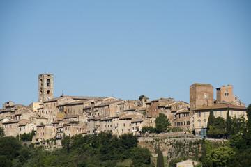 Cityscape of Colle Valdelsa (Tuscany)