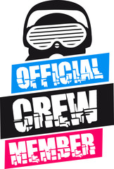 Official Crew Member Design