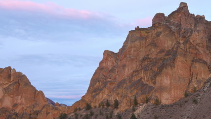 Smith Rocks Time Lapse Climbers