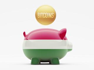 Hungary Bitcoin Concept