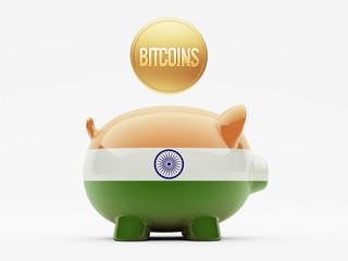 India Bitcoin Concept