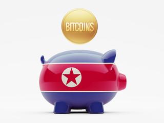 North Korea Bitcoin Concept